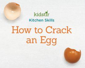 Kidstir Kitchen Skills. How to Crack an Egg!