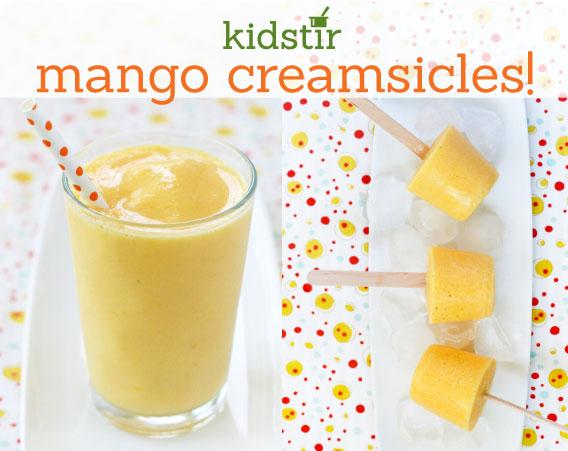 Mango Creamsicles