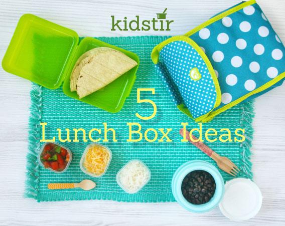 5 Lunch Box Ideas