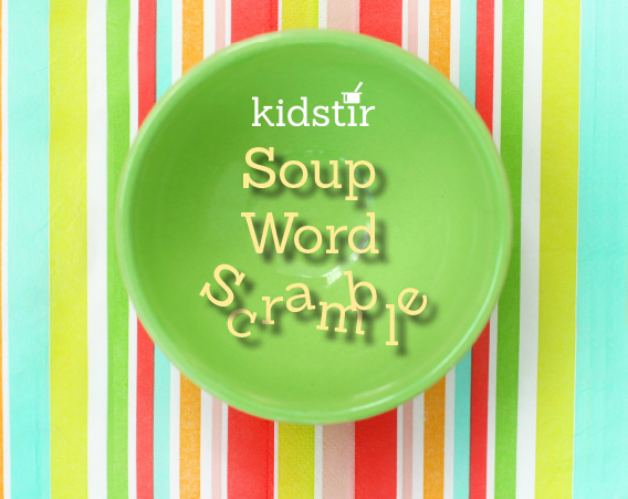 Soup Letter Word Scramble
