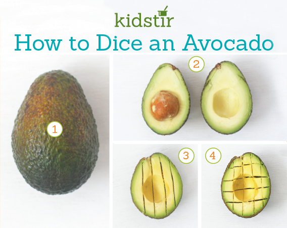 Dice a Ripe Avocado
