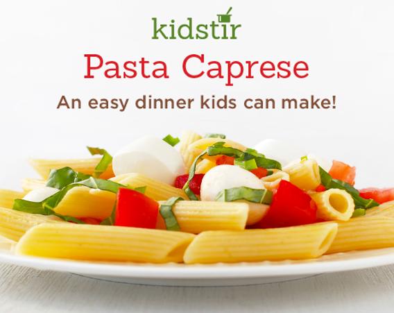 Italian Dinner Pasta Caprese