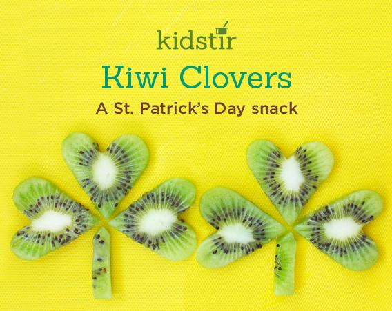 Salad Kiwi Clover Snack
