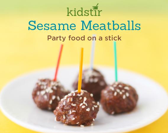 Sesame Meatballs