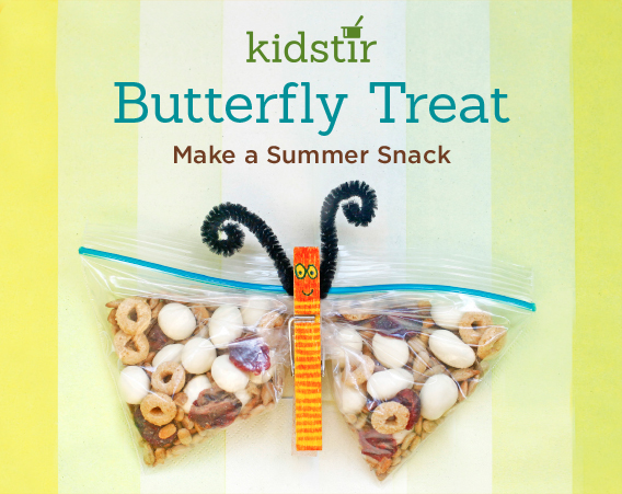 Butterfly Snack Mix