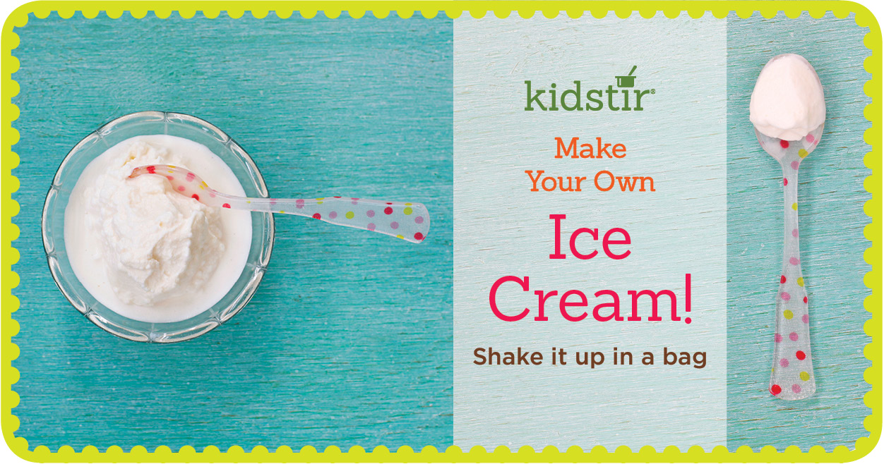 Kids ice cream in a bag ccuart Images