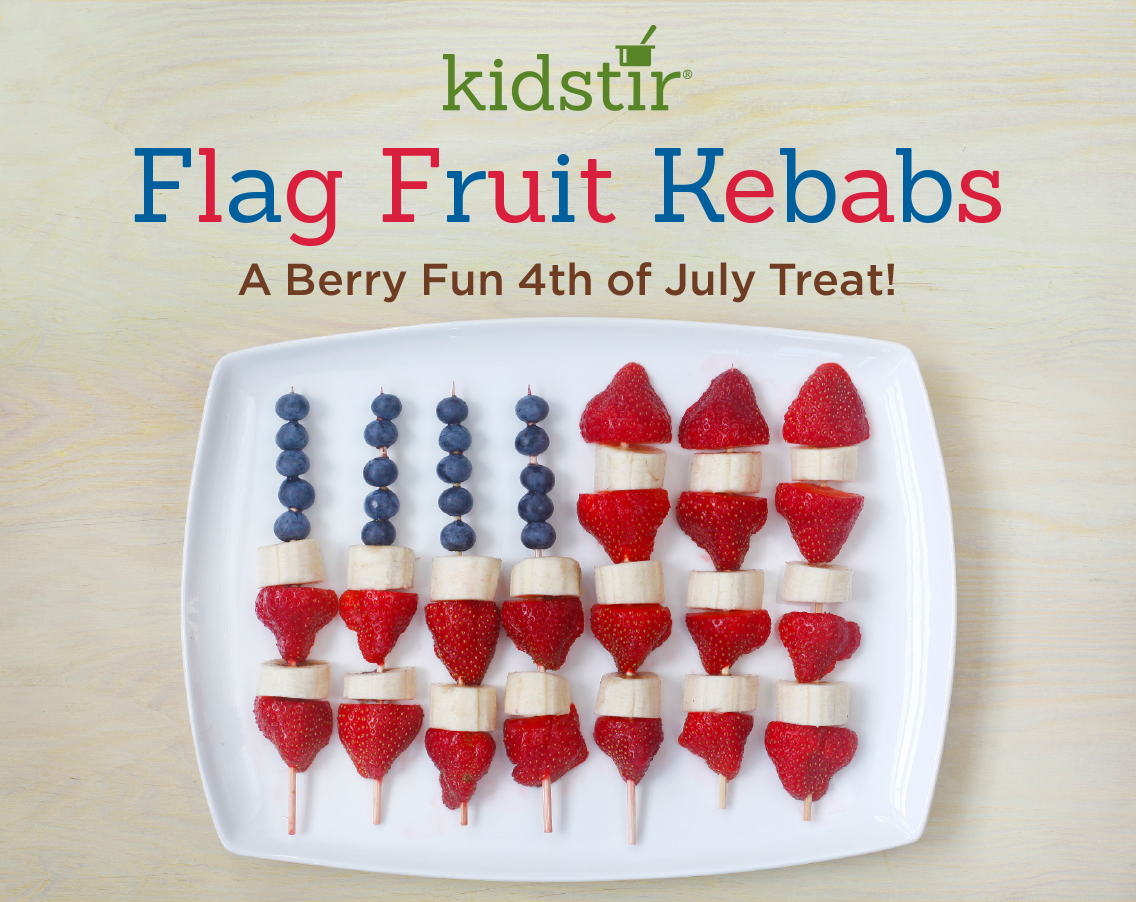 Flag Fruit Kebabs