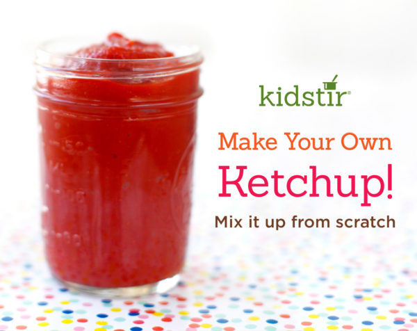 Homemade Kids Ketchup