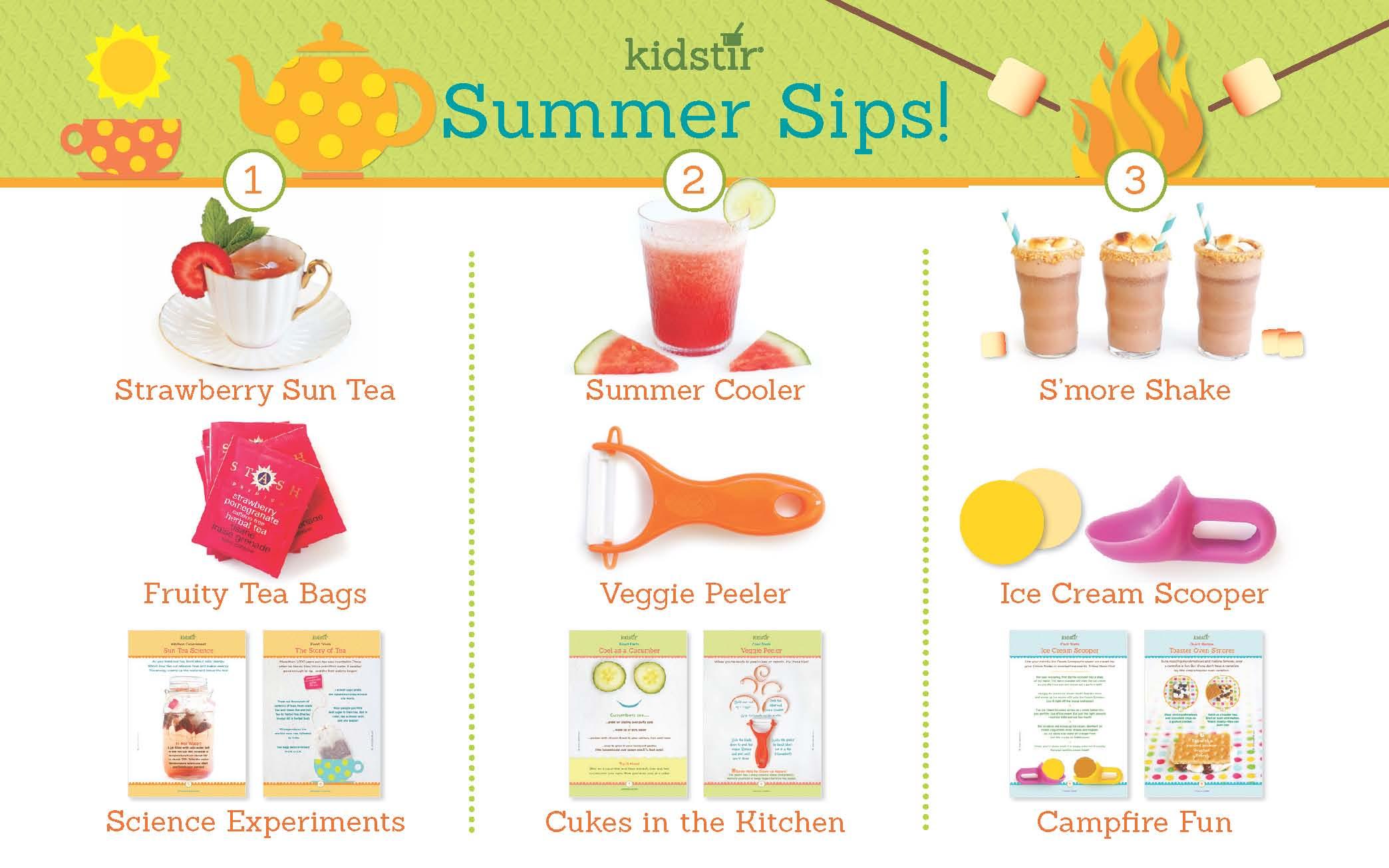 Summer Sips Kit Kidstir