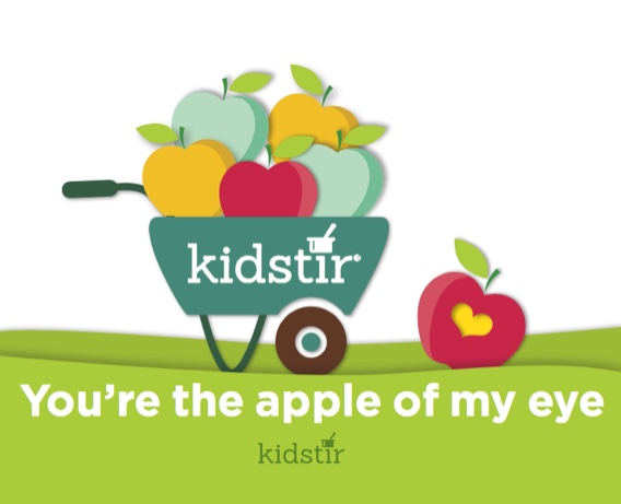 Apple of my eye Kidstir