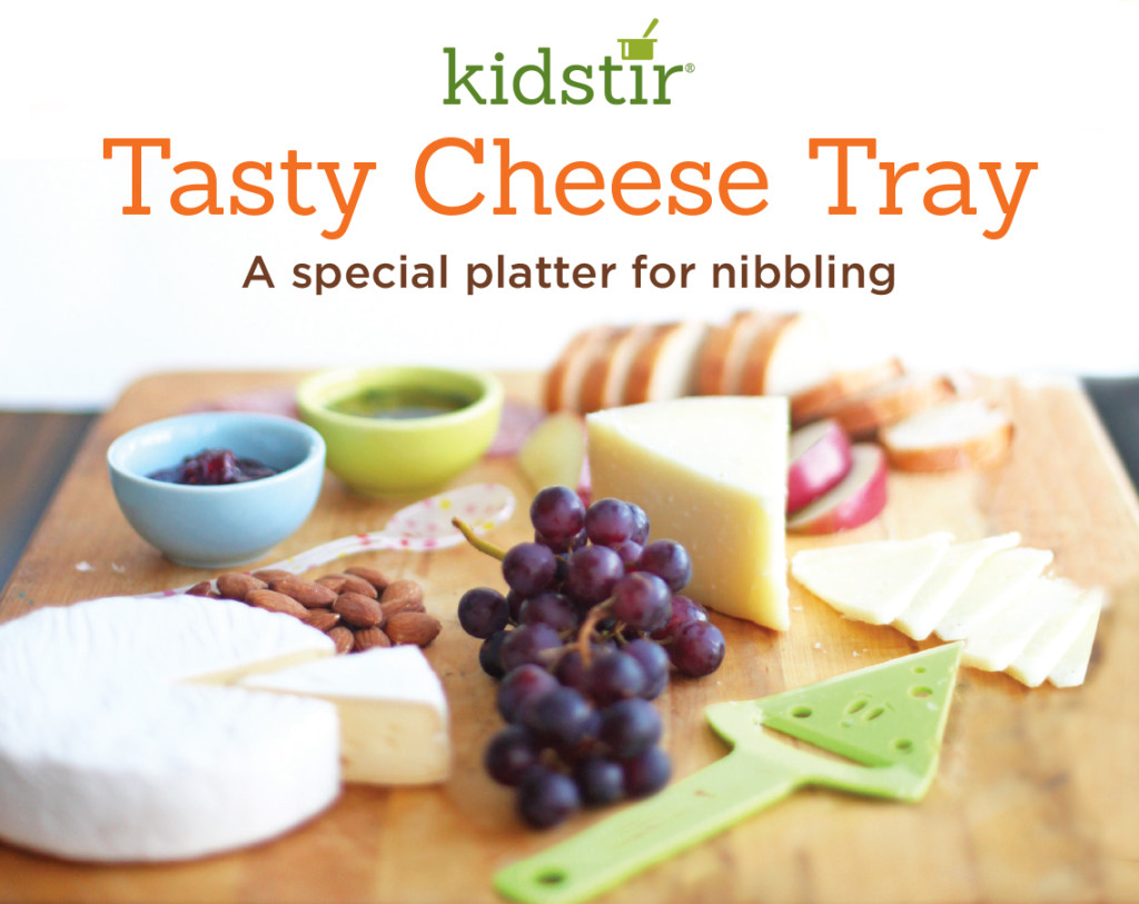 Cheese Nibble Tray for Kids