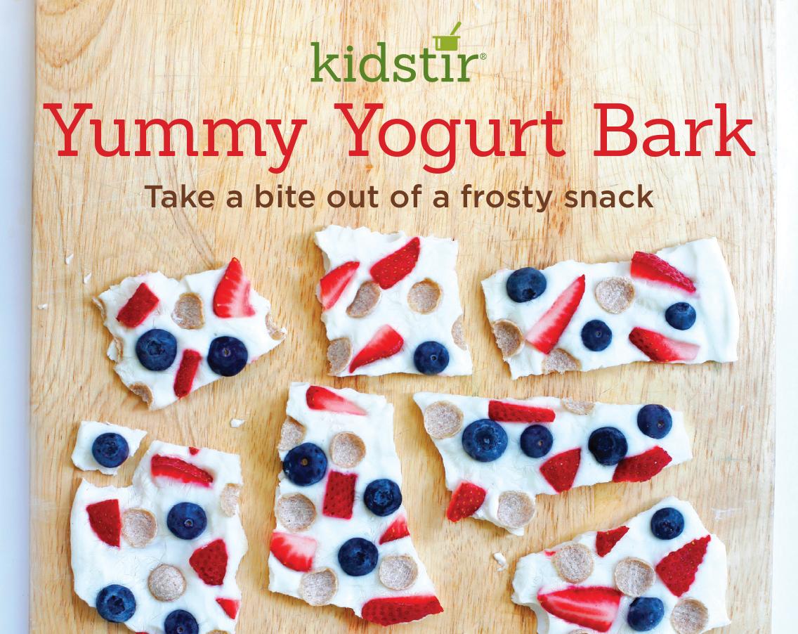 Yummy Yogurt Bark