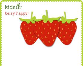 Berry happy day print