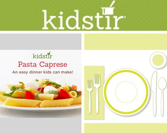 Pasta Caprese Kids News