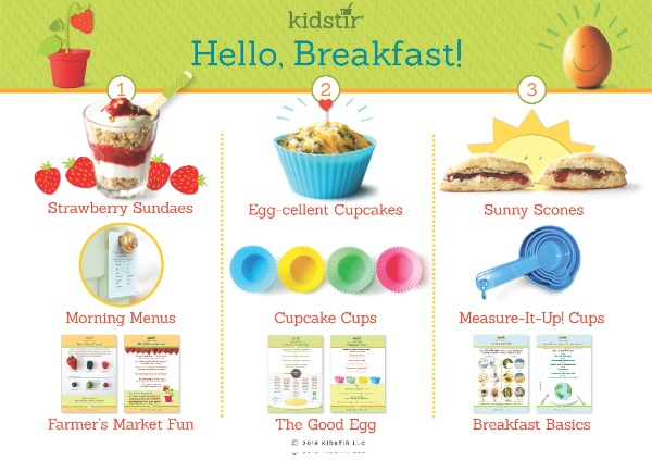 Hello Breakfast May Kit