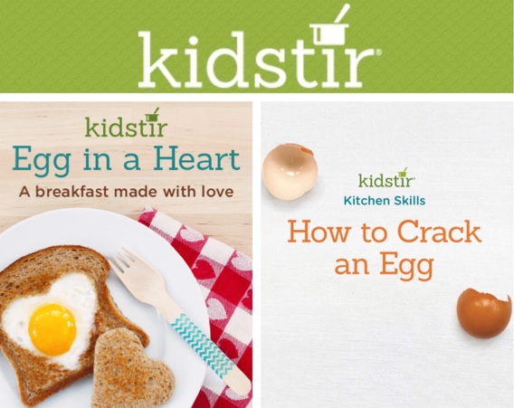 Kids Making Eggs for Breakfast