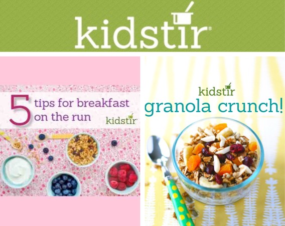 Kidstir Breakfast Collage