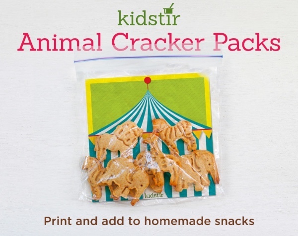 Animal Cracker Packs Print