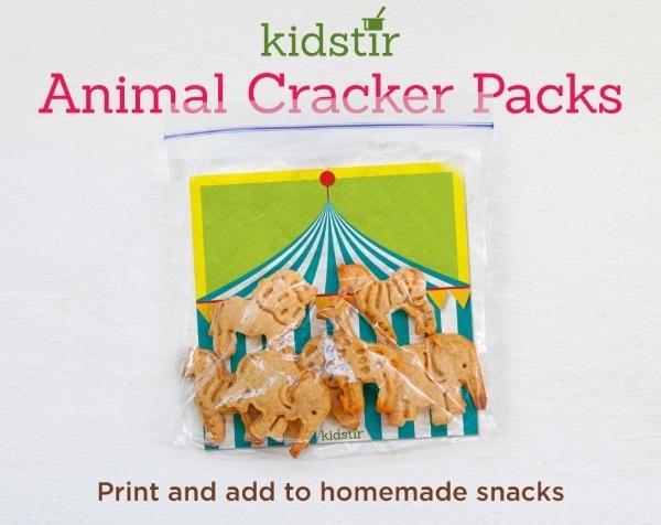 Animal Cracker Packs Print