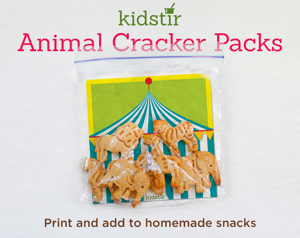 Animal Cracker Packs
