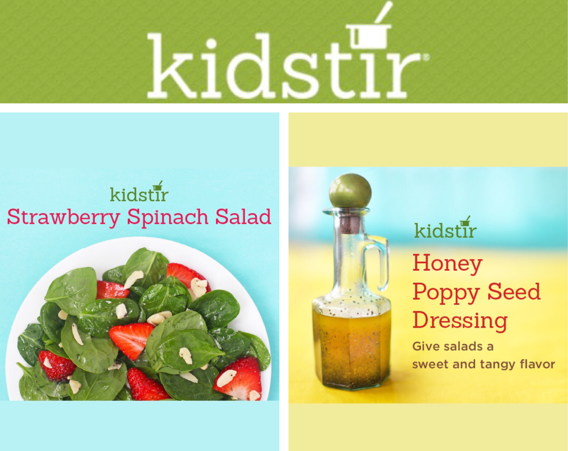 Kids Make Spring Salad