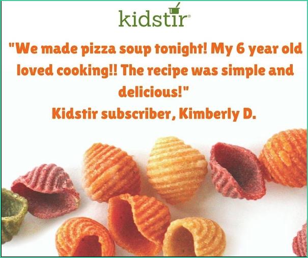 Kidstir Enthusiastic Testimonial Quote