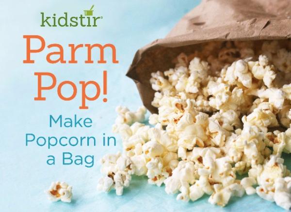 Parmesan Flavored Microwave Popcorn