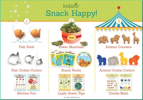 Snack Happy Recipe Kit