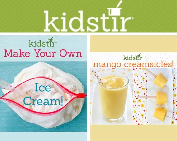 Kids Make Frozen Treats
