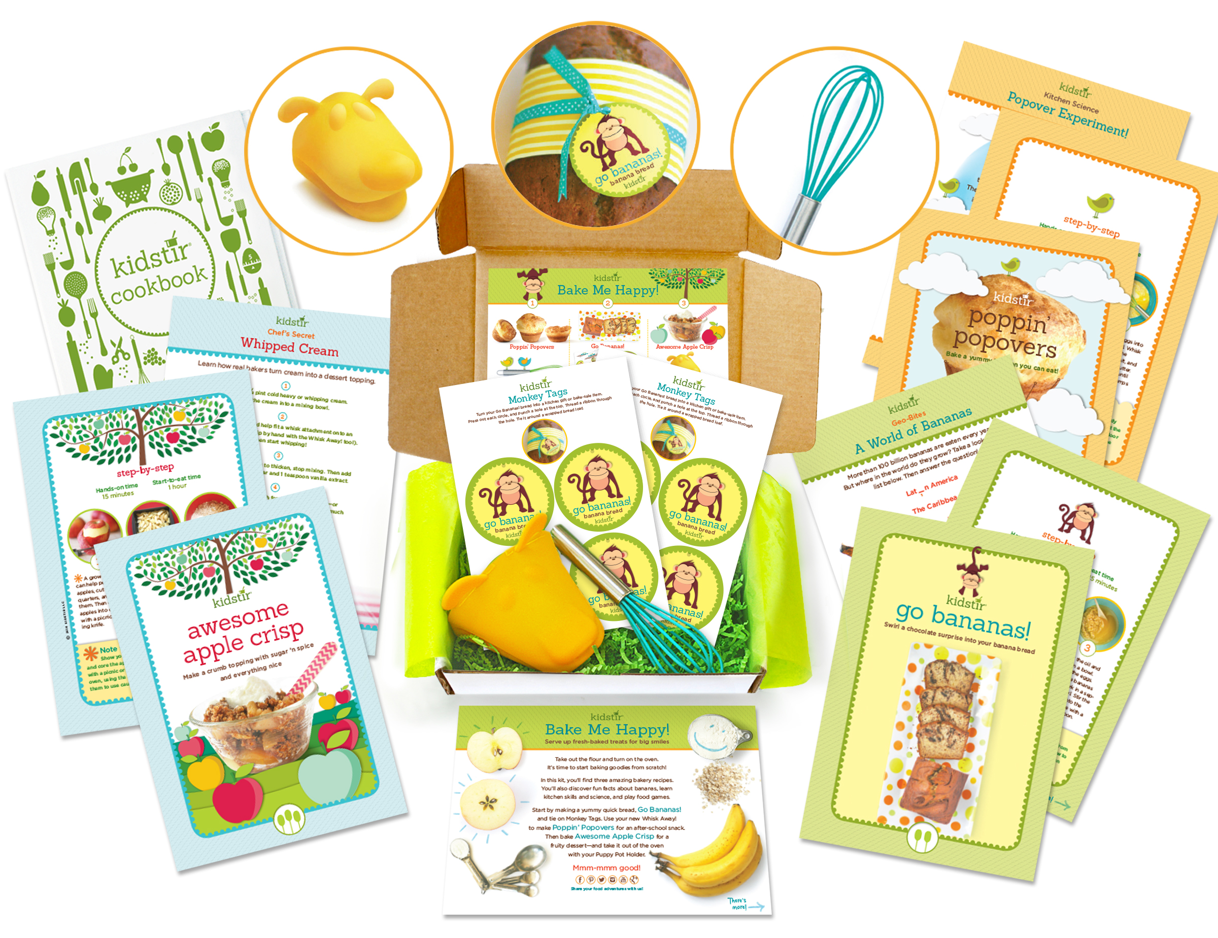 September Kids Bake Me Happy Cooking Kit