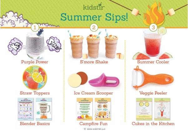 Summer Drinks for Kids to Sip
