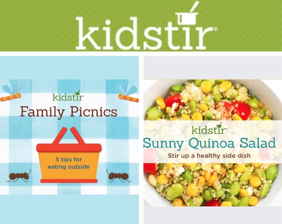 Kids Family Picnics Eating Outdoors