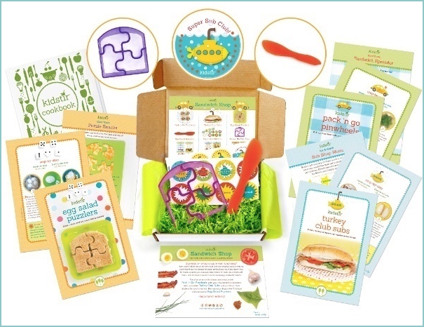 Kids Sandwich Shop Recipes Kit