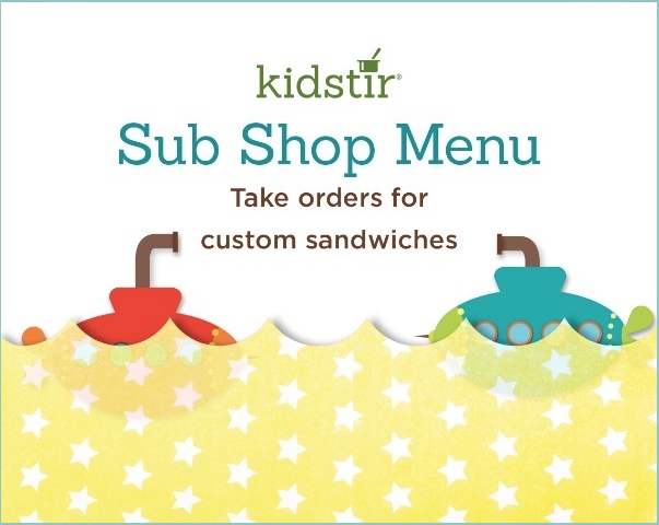 Kids Submarine Sandwich Shop