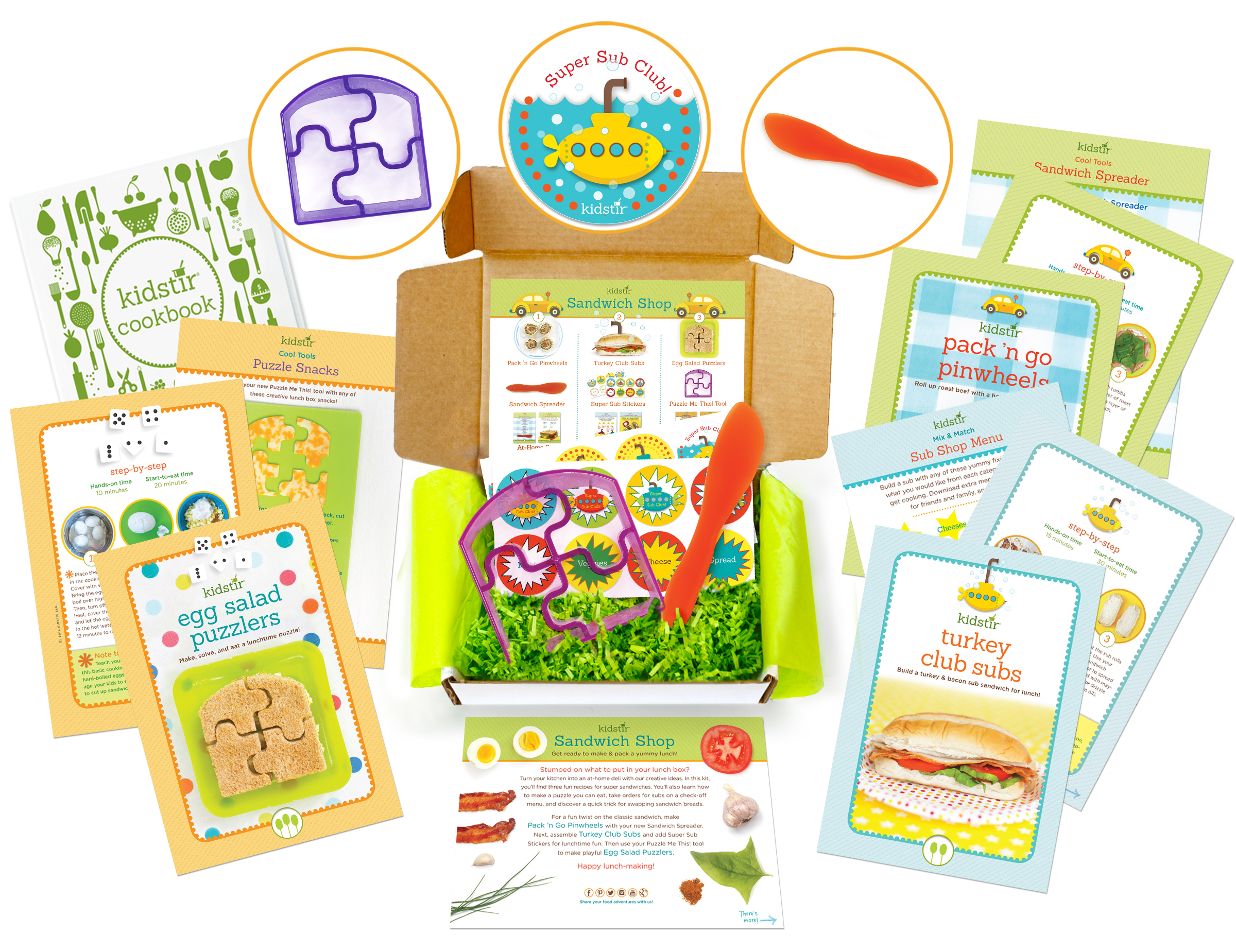 August Kids Sandwich Shop Cooking Kit