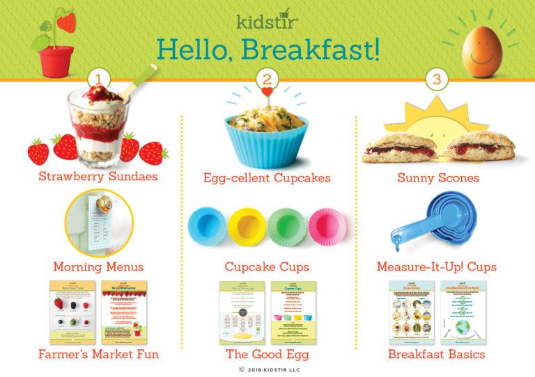 Kids Hello breakfast cooking kit