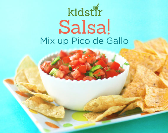 Pico De Gallo Fresh Salsa Recipe for Kids to Make