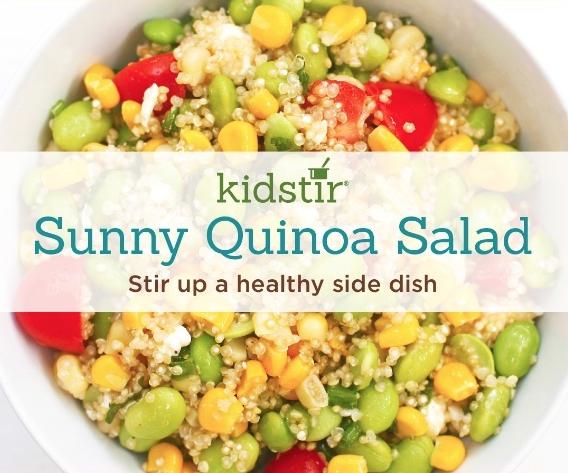 Sunny Quinoa Salad Kids