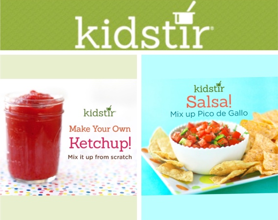 Tomato Condiments Kids Make