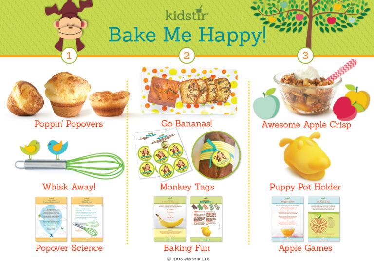 Kids September bake me happy baking kit