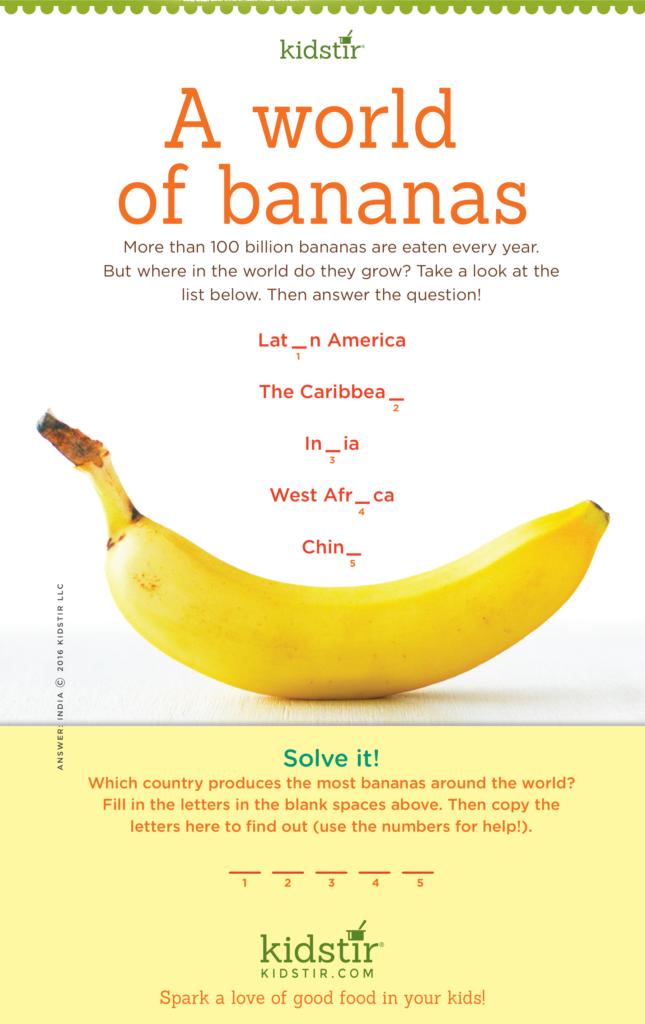 Where Do Bananas Grow Facts