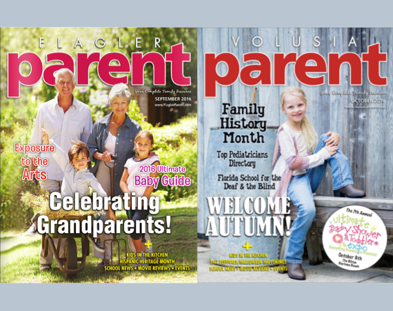 Flagle & Volusia Parent magazines