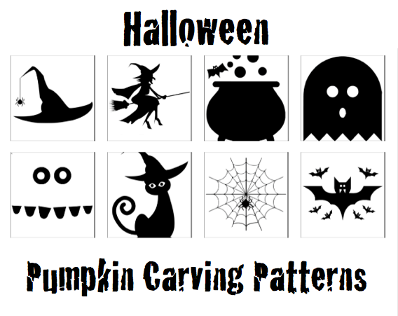 Kids Halloween Pumpkin Carving Patterns