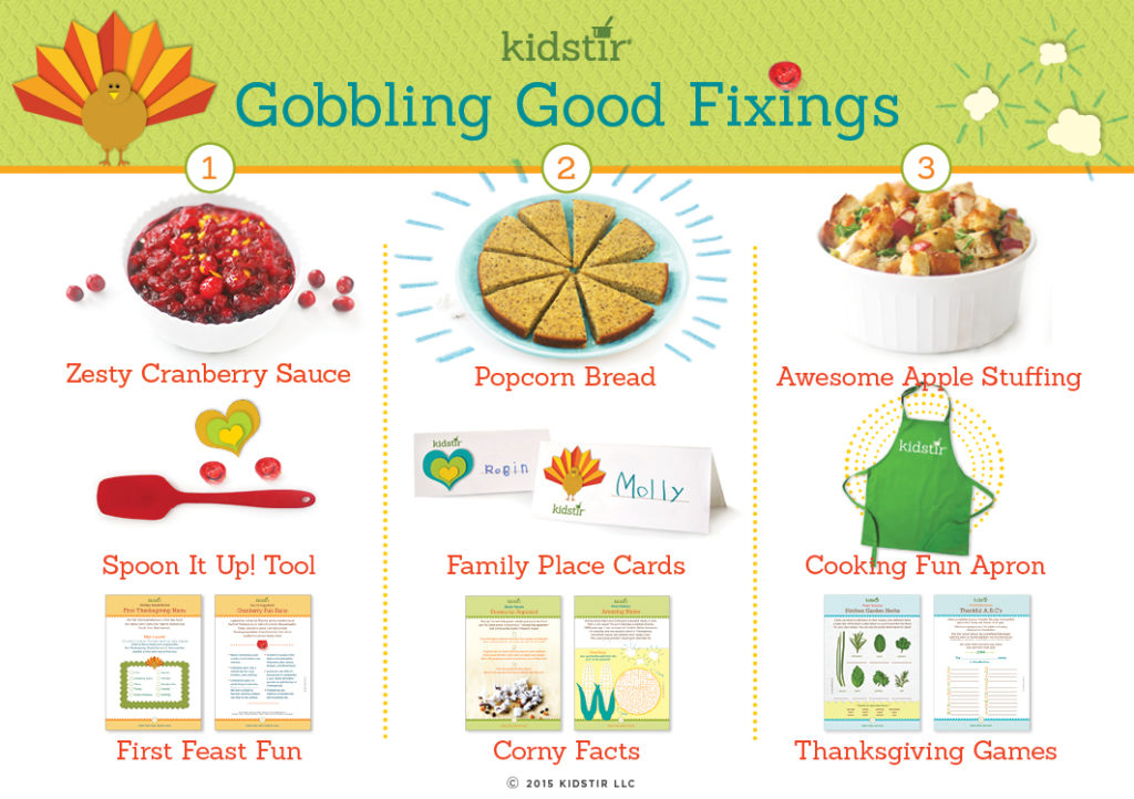 Kids November thanksgiving Cooking Kit