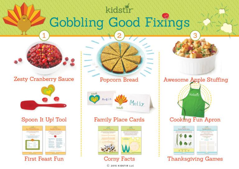 Kids November thanksgiving Cooking Kit