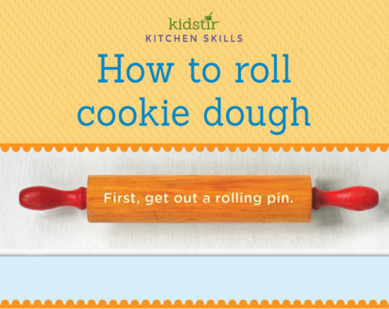 cookie dough rolling plastic