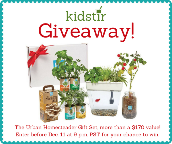 Urban homesteader giveaway