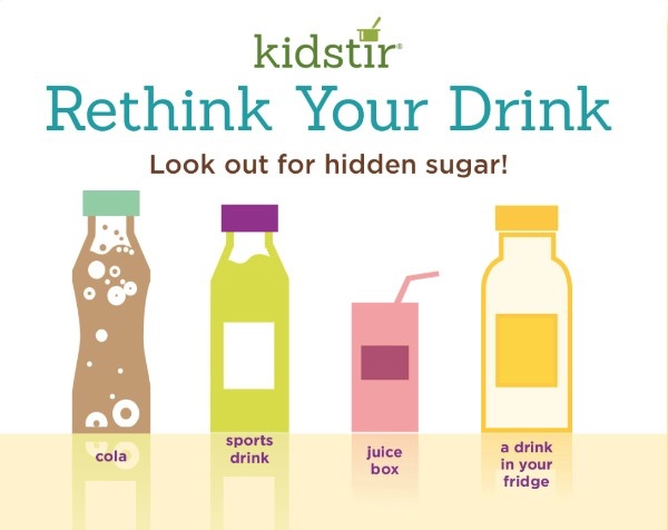rethink drink hidden sugar chart