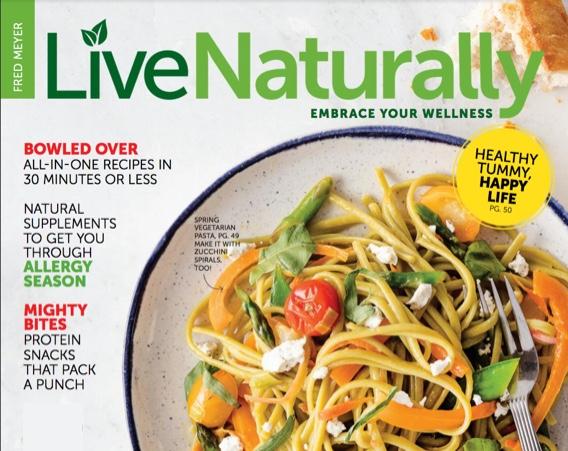 Live Naturally Magazine Spring
