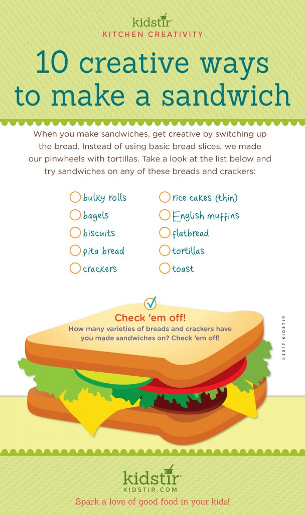 10 Creative Ways for Kids to Make a Sandwich
